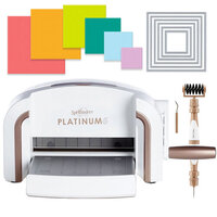 Exclusive Spellbinders Platinum 6 Machine Die Cutting Bundle - Nested Squares