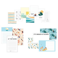 Scrapbook.com - Simple Scrapbooks - Cards - Beach - 14 Pack