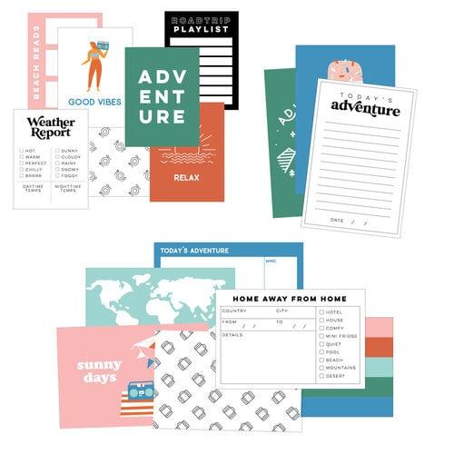 Scrapbook - Simple Scrapbooks - Cards - Adventure Calls - 42 Pack