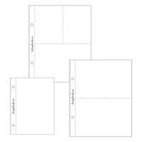 Scrapbook.com - 6x8 Page Protectors - Pocket Variety 1 - 25 Pack