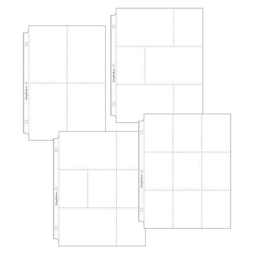 Scrapbook.com - 9x12 Page Protectors - Pocket Variety 1 - 40 Pack