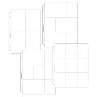 Scrapbook.com - 9x12 Page Protectors - Pocket Variety 1 - 40 Pack