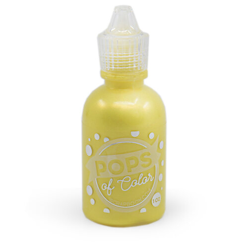 Scrapbook.com - Pops of Color - Pearl - Lemon Chiffon - 1oz