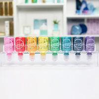 Scrapbook.com - Pops of Color - Rainbow Bundle - 1oz - with ColorCase Storage - Kit