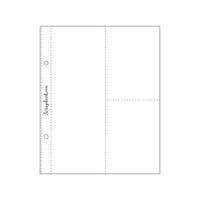 Scrapbook.com - 6x8 Page Protectors - 3x8 Two 3x4 - 10 Pack