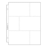 Scrapbook.com - 9x12 Page Protectors - Three 4x6 Three 3x4 Pockets - 10 Pack