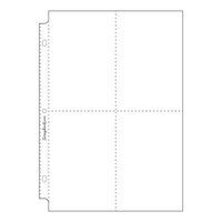 Scrapbook.com - 8x12 Page Protectors - Four Vertical 4x6 Pockets - 10 Pack