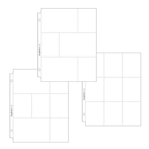 Scrapbook.com - 9x12 Page Protectors - Pocket Variety - 30 Pack