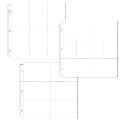 Scrapbook.com - Universal 12x12 Pocket Page Protectors Variety Pack of 15