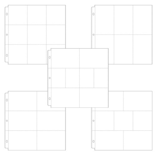 Scrapbook.com - Universal 12x12 Pocket Page Protectors - 50 pack - Variety Pack 2