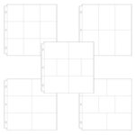 Universal 12 x 12 Pocket Page Protectors - 50 pack - Variety Pack 2