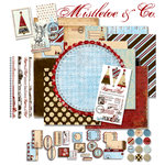 Pink Paislee - Mistletoe and Co. Collection Kit, CLEARANCE