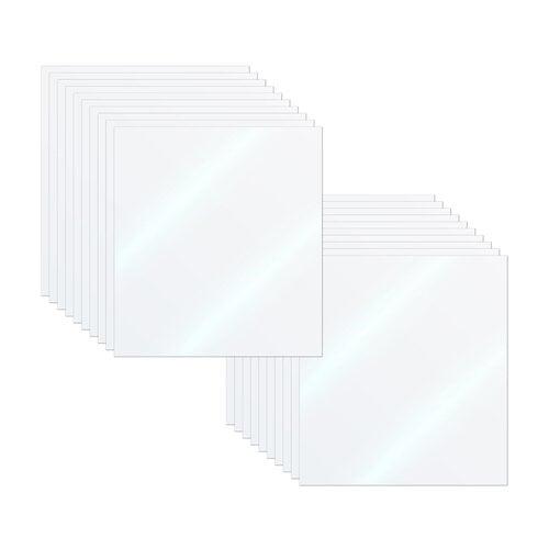 Scrapbook.com - Acetate Sheets - Clear - 5x6 - 20 Pack