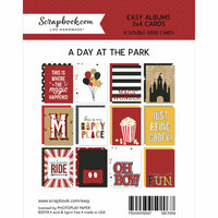 Scrapbook.com - 3 x 4 - Cards for Easy Albums - Magical Day at the Park - 12 Pack