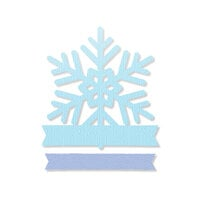 Scrapbook.com - Decorative Die Set - Snowflake Winter Wishes