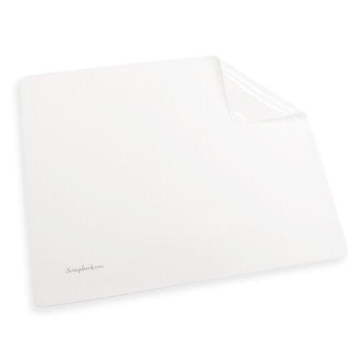 Scrapbook.com - Non-Stick Silicone Craft Mat - White - Large - 19.5 x 15.5