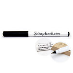 Scrapbook.com - Fine Point Slick Writer Pen - Black