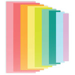 Scrapbook.com - Decorative Die Set - Slimline - Nested Rectangles