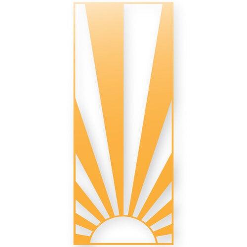 Scrapbook.com - Decorative Die - Slimline - Sunshine - Sunny Days Ahead