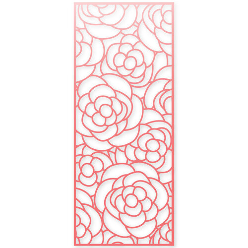 Scrapbook.com - Decorative Die - Slimline - Rose Bloom