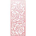 Scrapbook.com - Decorative Die - Slimline - Rose Bloom