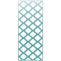 Scrapbook.com - Decorative Die - Slimline - Moroccan Tile