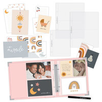 Scrapbook.com - Simple Scrapbooks - Little One - Complete Kit with Pink Album