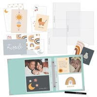 Scrapbook.com - Simple Scrapbooks - Little One - Complete Kit with Mint Album