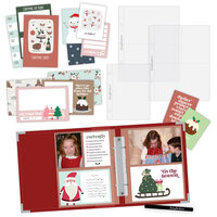 Scrapbook.com - Simple Scrapbooks - December to Remember - Complete Kit with Red Album