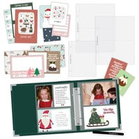 Scrapbook.com - Simple Scrapbooks - December to Remember - Complete Kit with Forest Green Album
