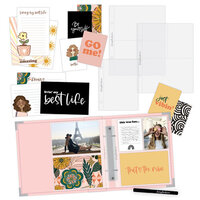 Scrapbook.com - Simple Scrapbooks - My Best Life - Complete Kit with Pink Album