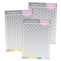 Scrapbook.com - Stencils - Stencil Backgrounds Bundle