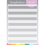 Stencils - Bold Stripes - 6x8