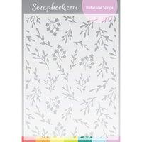 Scrapbook.com - Stencils - Botanical Sprigs - 6x8