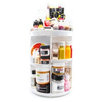 Scrapbook.com - 360 Craft Tower - Rotating Organizer - 4 Shelves - White