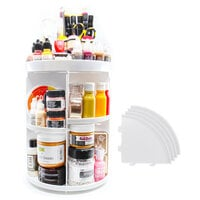 Scrapbook.com - 360 Craft Tower - Rotating Organizer - 8 Shelves - White