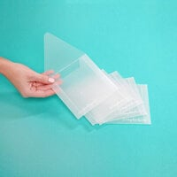 Scrapbook.com - Storage Envelopes - Plastic - 4.75 x 4.75 - Small - 5 Pack