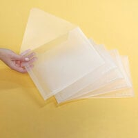 Scrapbook.com - Storage Envelopes - Plastic - 7x10 - Large - 5 Pack