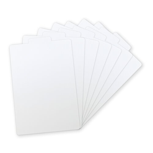Scrapbook.com - Tabbed Dividers with Labels - White - 7 Piece Set