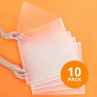 Scrapbook.com - Storage Envelopes - Plastic - 13x13 - Extra Large - 10 Pack