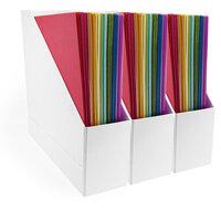 Scrapbook.com - Craft Room Basics - 12x12 Paper Holder - Magazine Style - 3 Pack