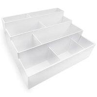 Scrapbook.com - Craft Room Basics - Large Stadium Organizer - 9 Compartments - White