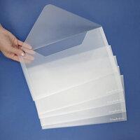 Scrapbook.com - Storage Envelopes - Plastic - 7 x 13 - 5 Pack