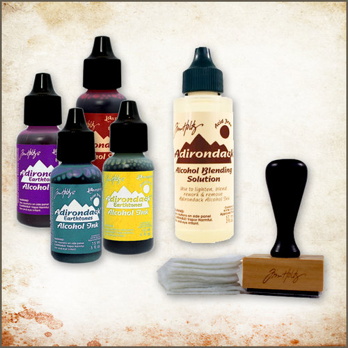 Ranger Ink - Tim Holtz - Adirondack Alcohol Ink Kit - Mixed Media Artist
