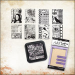 Ranger Ink - Stampers Anonymous - Tim Holtz - Artist Trading Card Kit - Creative