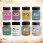 Ranger Ink - Tim Holtz - Distress Crackle Paint - Backstage Pass Kit
