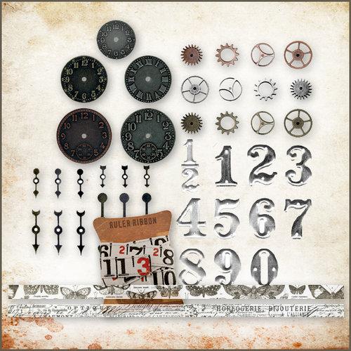 Tim Holtz - Idea-ology - Embellishment Kit - Steampunk