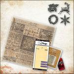 Ranger Ink - Tim Holtz - 12 x 12 Christmas Kit - Tidings