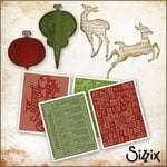 Sizzix - Tim Holtz - Christmas - Die Cutting and Embossing Kit - Trim A Tree