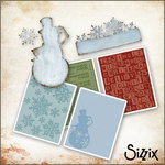 Sizzix - Tim Holtz - Die Cutting and Embossing Kit - Winter Wonderland